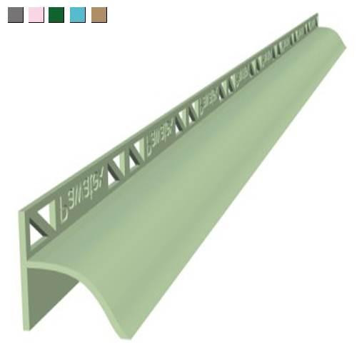 Пластиковый бордюр для установки под плитку