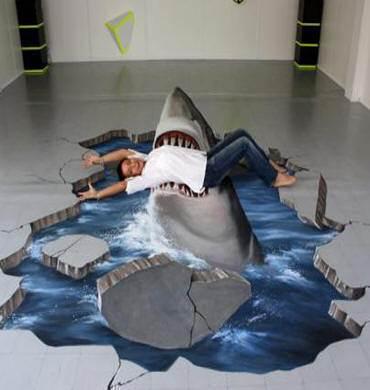 Почти ручная собственная акула