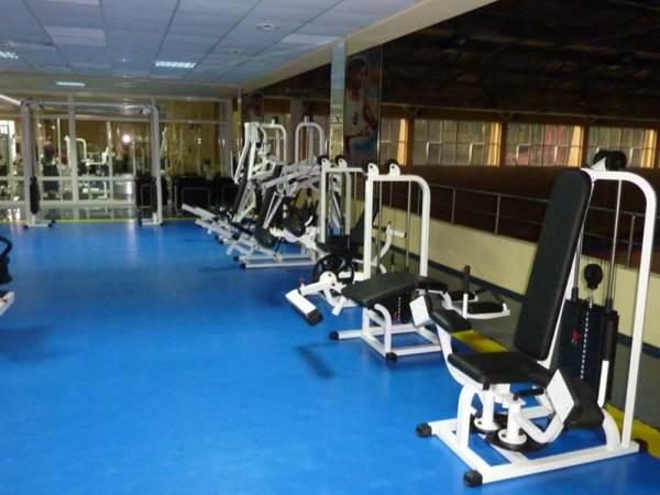 Полы в спортзалах школ или тренажёрных центров требуют особого внимания, если предполагается размещение тяжёлых тренажёров