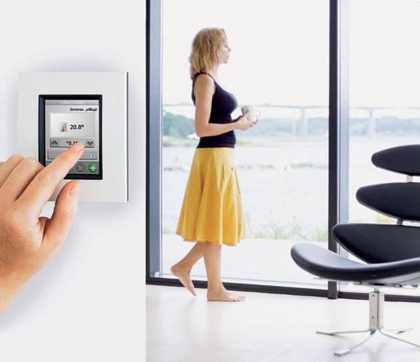 Потребление электроэнергии теплым полом можно контролировать