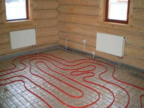 Правильная укладка нагревательных элементов в комплексе с батареями отопления даст возможность значительно снизить потребление энергии
