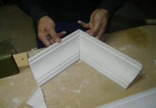 Правильное соединение угловых деталей.