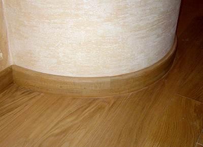 Приклеенный образец на криволинейной поверхности