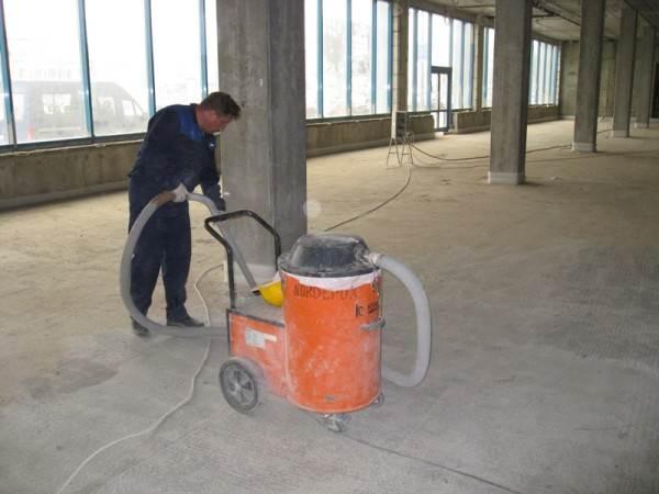 Применение промышленного пылесоса