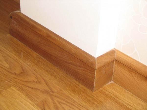 Пример использования элементов из древесины дуба