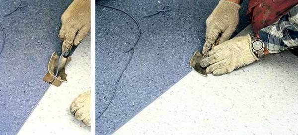 Профессиональное удаление излишков шнура