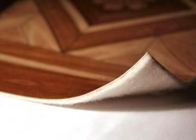 ПВХ покрытие с войлочной (джутовой) подложкой
