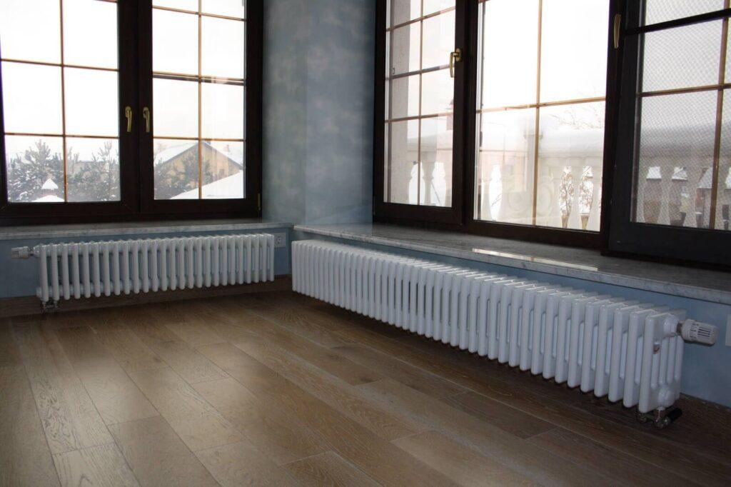 Радиаторы отопления в квартирах и частных домах