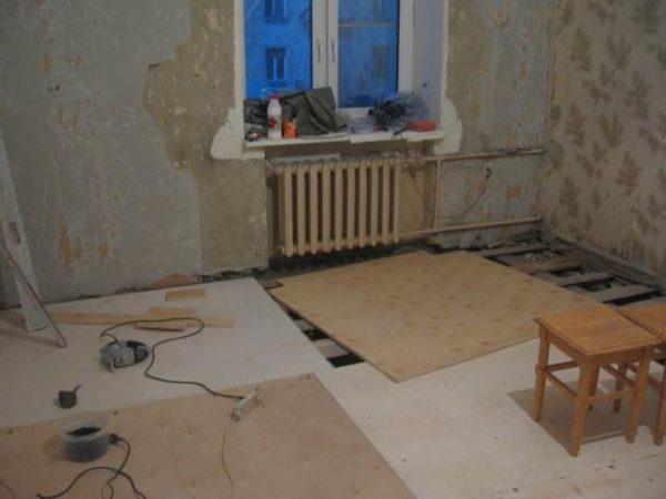 Рано или поздно, полы в помещении требуют ремонта.