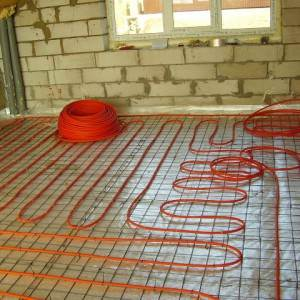 Раскладка кабеля по полу