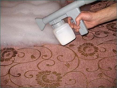 Распыление чистящего средства