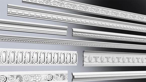 Различные виды дизайна галтелей