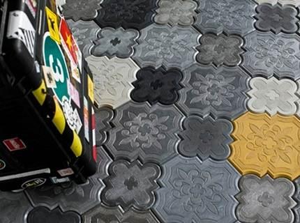 Разнообразие бетонной плитки