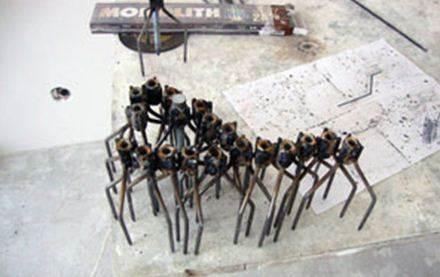 Самодельные реперы, используемые в качестве маяков