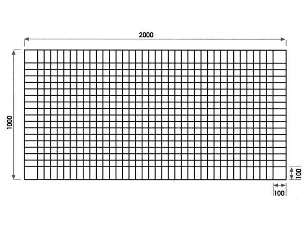 Схема армирования стяжки.