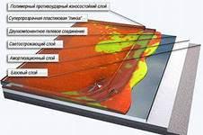 Схема декоративного наливного покрытия.