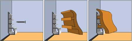 Схема монтажа панели из МДФ