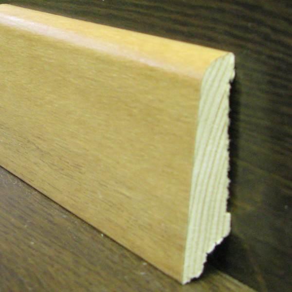 Шпонированный багет в разрезе