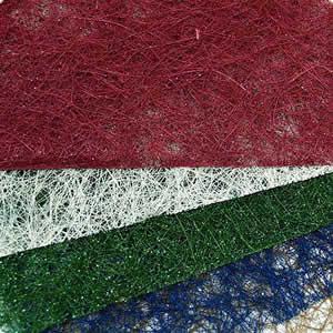 Сизаль разных цветов