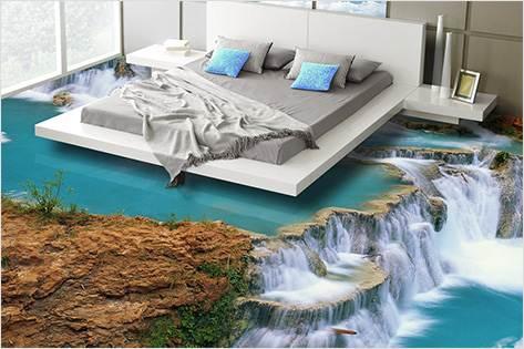 Сон на краю водопада
