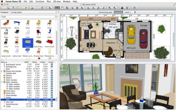 Создание объемной модели дома в программе