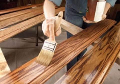 Специальный материал, позволяющий придать определенный эффект разным волокнам в древесине