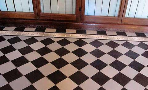 Способ укладки плитки по диагонали