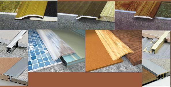 Способы соединения двух напольных материалов разнообразны