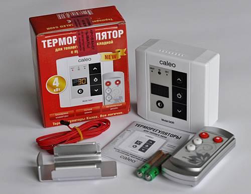 Стандартный комплект для контроля напольной температуры