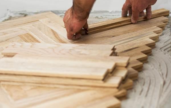 Стоимость деревянных полов напрямую зависит от сложности рисунка