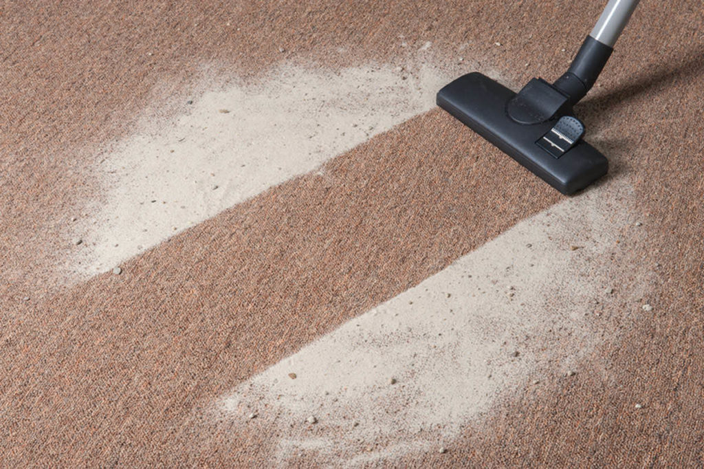 Сухая чистка ковров пеной