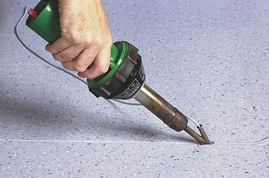 Сварка полимерного покрытия