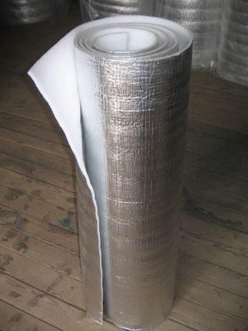 Теплоизолятор с фольгированным слоем.