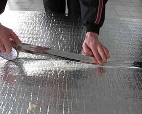 Теплоизоляционные материалы укладываются на любое основание