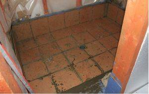 Трап для слива воды в бане
