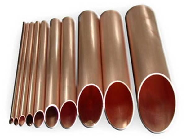 Трубы различного диаметра из меди
