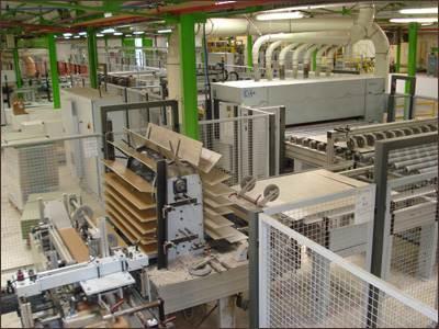 Цех по производству ламинированных ламелей