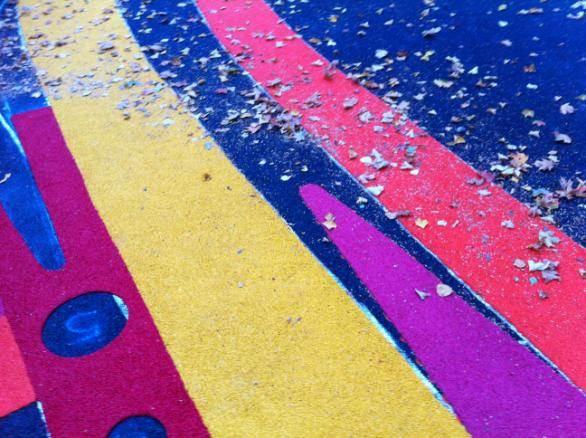 Цветное ММА покрытие
