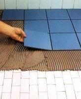 Укладка плитки встык