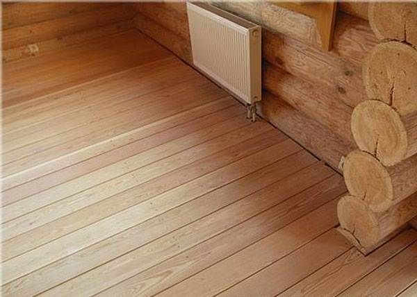 Устройство деревянных полов в деревянных домах зависит от режима использования помещения и конструкции фундамента.