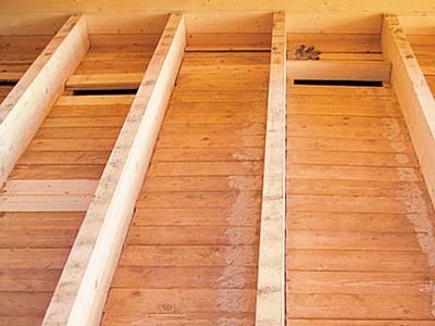 Утепляем деревянный настил