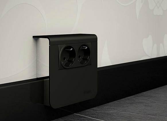 Внешний вид устройства гармонирует с дизайном помещения