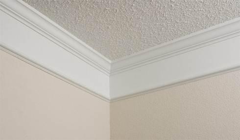 Внутренний угол на потолке