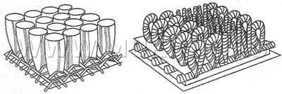 Ворсовая и петлевая структура