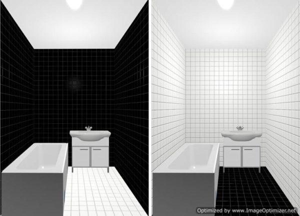 Выбор соотношения оттенков или цветов поверхности может сильно отразиться на внешнем виде комнаты