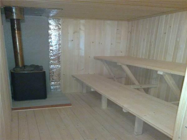 Залог хорошей бани связан не только с утепленным полом, но и с качественной теплоизоляцией стен
