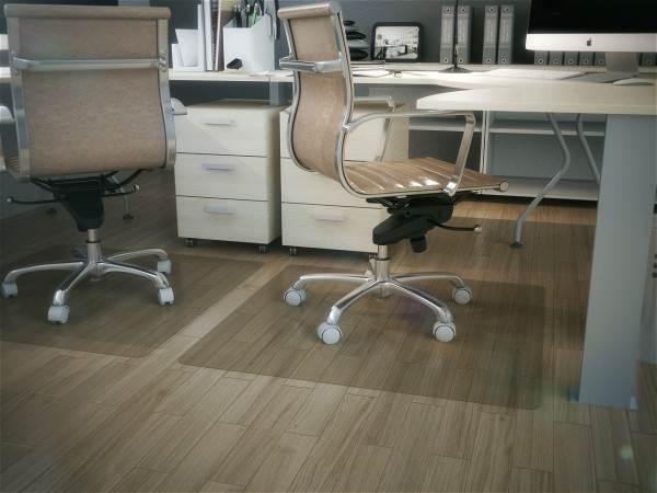 Защитные настилы чаще всего применяются в офисах.