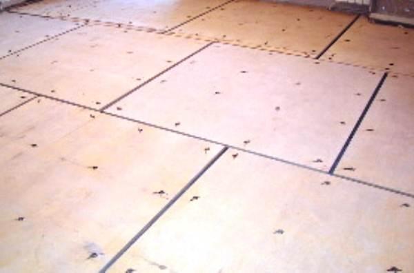 Зазор требуется для сезонного расширения деревянных поверхностей